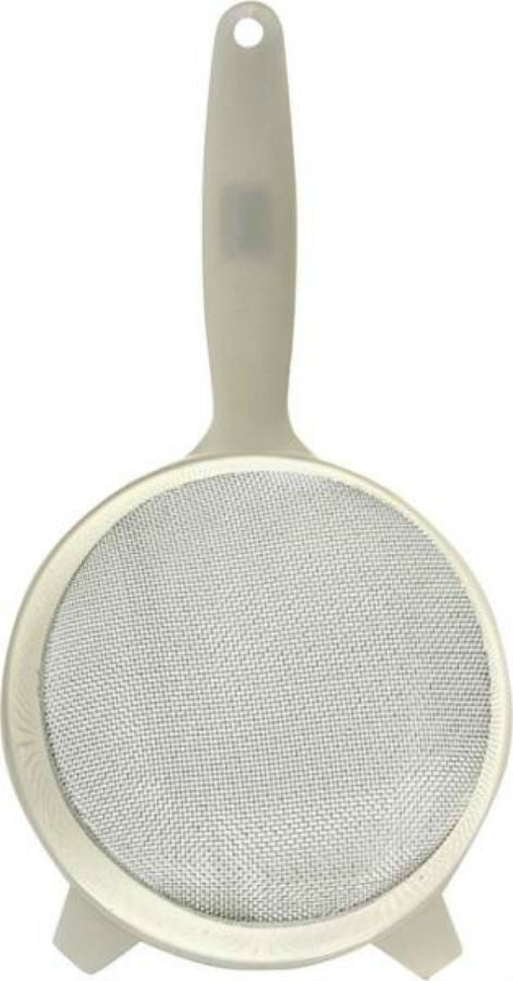 Norpro 2136 Stainless Steel Strainer With Plastic Handle, 6""