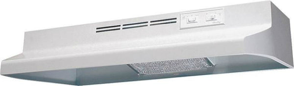 "Air King AD1303 Wide Range Hood, 30"", White"
