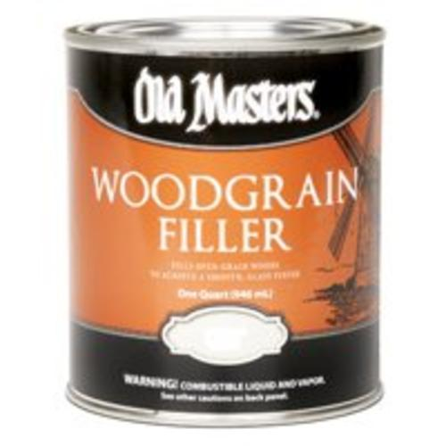 Old Masters 50004 Woodgrain Filler, Quart