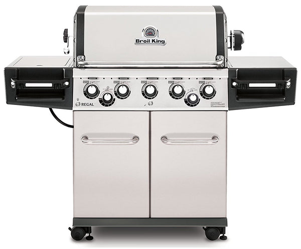 Broil King 958347 5 Burner Natural Gas Grill, 55,000 BTU