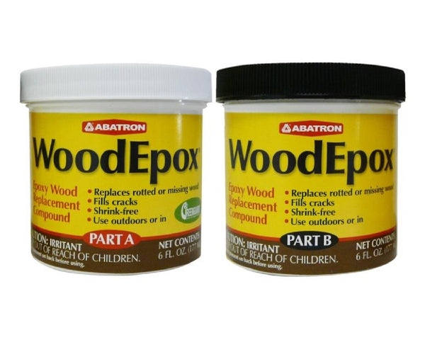 Abatron WE2GKR Epoxy Wood Putty, 2 Gallon