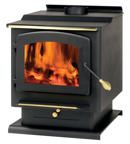 Summers Heat 50-SNC30 Free Standing Wood Burning Stove, 2,200 Sq. Ft.