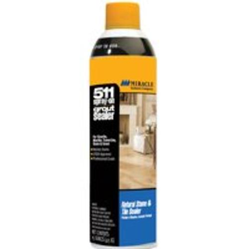Miracle Sealants GRT-SLR-AERO-6/1  Spray-On Grout Sealer, 15 oz, Clear