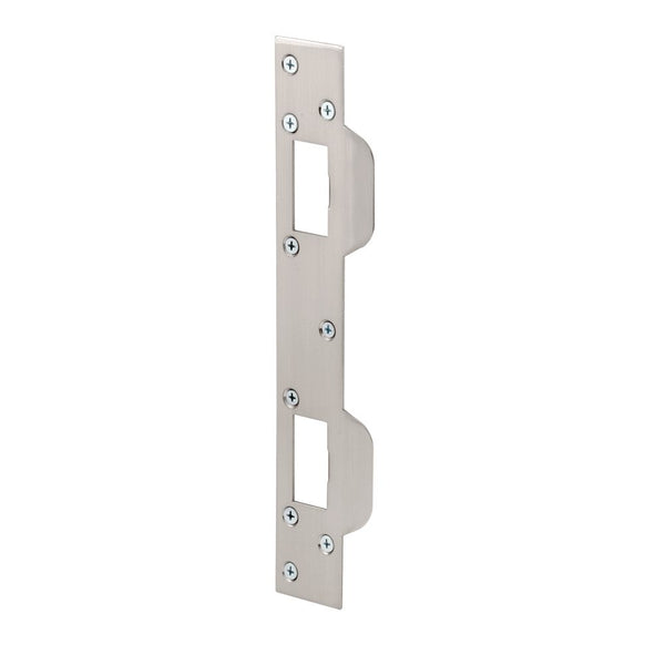 Prime Line U 10385 Deadbolt Security Strike, Satin Nickel