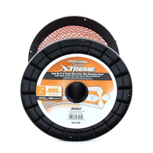 Xtreme WLX-395 Professional Grade Trimmer  Line, 0.095' x 819'