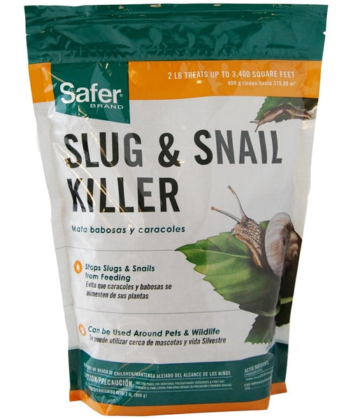 Safer SB125 Slug & Snail Killer, 2 Lbs