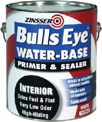 Zinsser 02241 Bulls Eye Water Base Primer Sealer, 1-Gallon