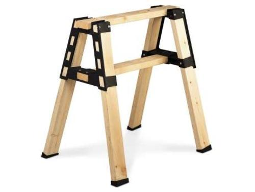 2X4 Basics 90194 Pro Bracket Sawhorse, Lumber Not Included