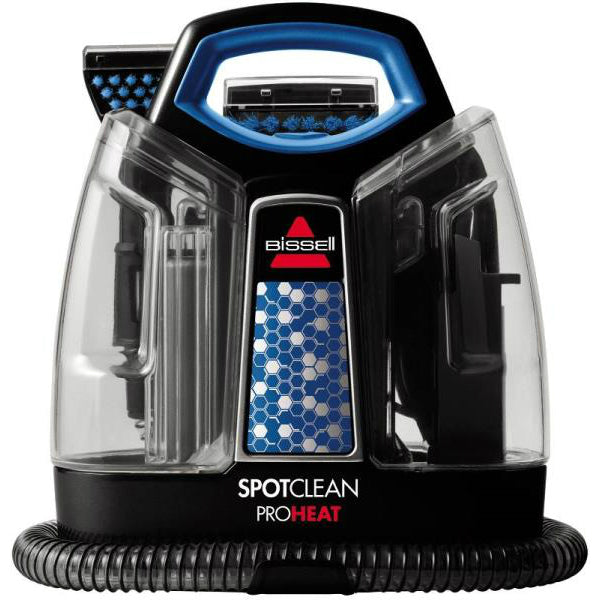 Bissell 2513G SpotClean ProHeat Carpet Cleaner, Black/Motley Blue, 37 Oz