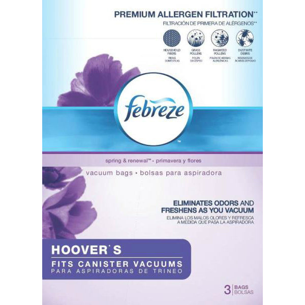 Febreze 63P11 Hoover S Replacement Vacuum Bag