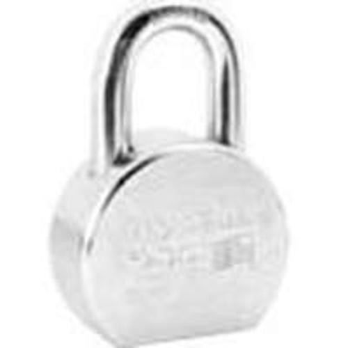 "Master Lock A700KA#27334 Shackle Ka Padlock, 1-1/16"", Chrome Plated"