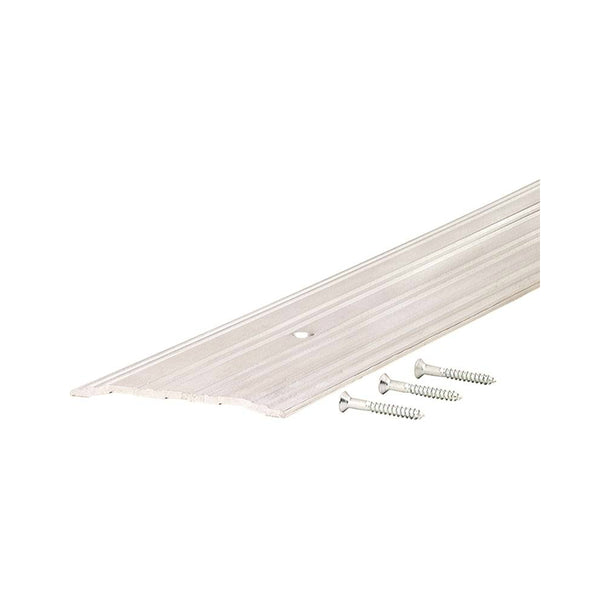 "M-D Building Products 68387 Fluted Saddle Threshold, Aluminum, 5"" x 36"" x 1/4"""