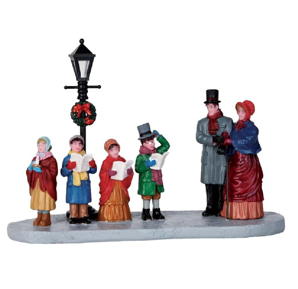Lemax 63272 Christmas Table Street Lamp Serenade, Polyresin, 2.36""