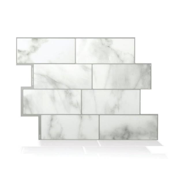 Smart Tiles SM1080-1 Metro Carrera Decorative Wall Tile