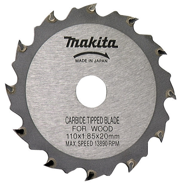 "Makita A90093 Circular Saw Blade, 4-3/8"", 12 Teeth"