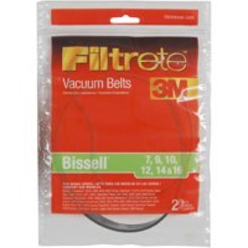 Filtrete 66007-12 Vacuum Cleaner Belts, Bissell Style