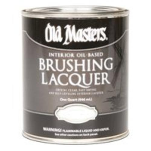 Old Masters 92804 Brushing Lacquer, Semi-Gloss, Quart