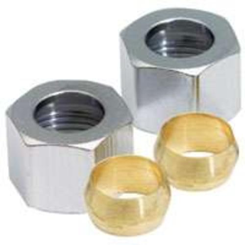 Plumb Pak PP81PC Compression Nut/Sleeve