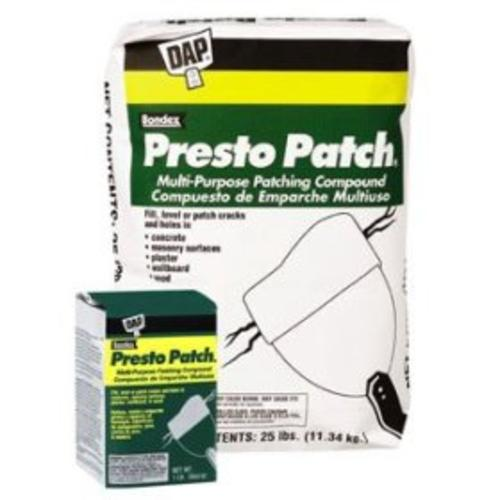 Dap 58552 Presto Patch Patching Compound 25Lb.