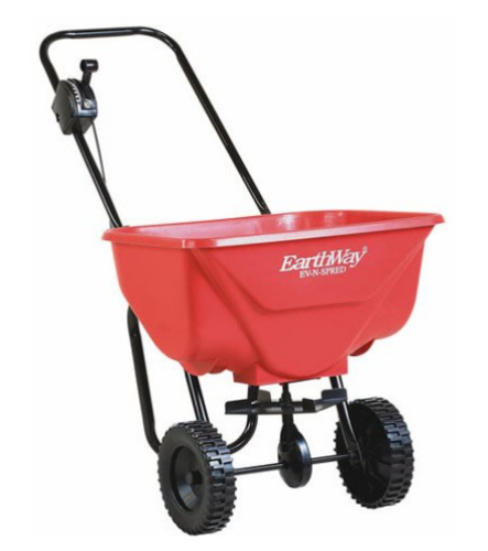 Earthway Ev-N-Spred 2030 Large Capacity Broadcast Spreader, 65 lbs