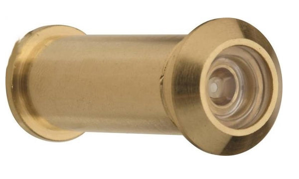 Prosource LR-001BB-PS Wide Angle Door Viewer, Satin Brass