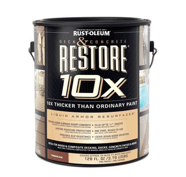 Rust-Oleum 46158 Timberline Restore Deck and Concrete, 1 Gallon