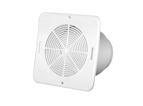Duraflo 646015 Bathroom Soffit Exhaust Vent, White