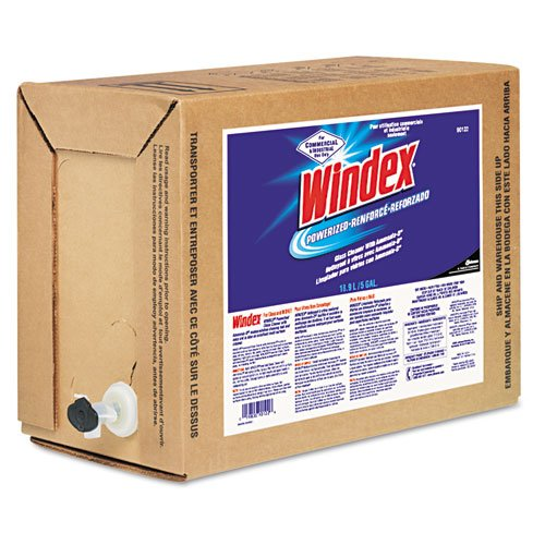 Windex 10019800901226 Glass/Surface Cleaner, 5 Gallon