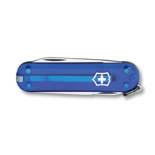 Swiss Army 54212 Sapphire Classic Pocket Knife, Blue