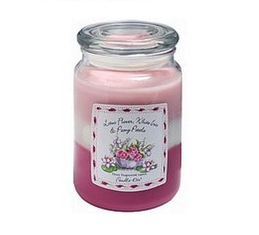 Candle-Lite 1962167 Jar Candle, 3 Layer, 19 Oz