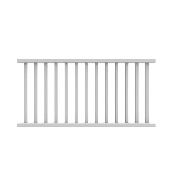 Xpanse 73012418 Select Rail Kit With Square Balusters, 6' x 36""