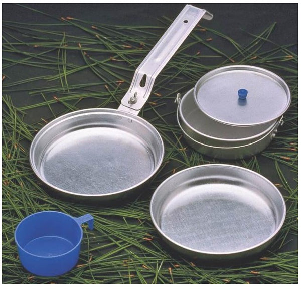 Texsport 13140 Heavy Duty Mess Kit, 5 Pieces