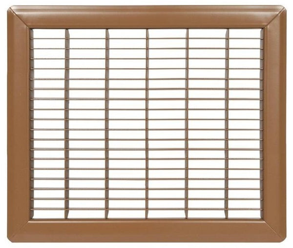 Imperial RG0625 Heavy Gauge Floor Grille, Steel, Powder Coated