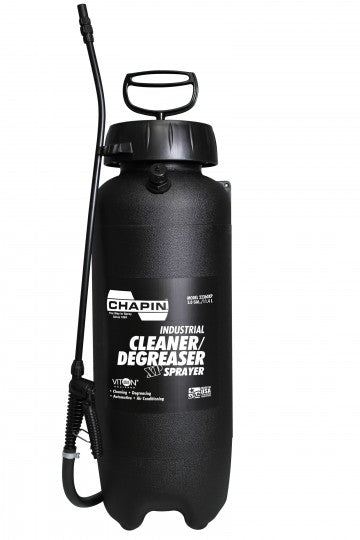Chapin 22360XP Industrial Viton Cleaner/Degreaser Sprayer, 3 Gallon