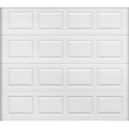 Wayne Dalton 8000 Garage Door, Galvanized Steel, 9' x 7', White