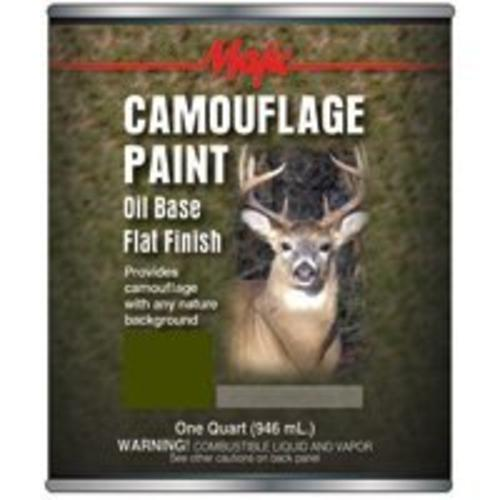 Majic 8-0850-2 Camouflage Paint, Oilve Drab, Quart
