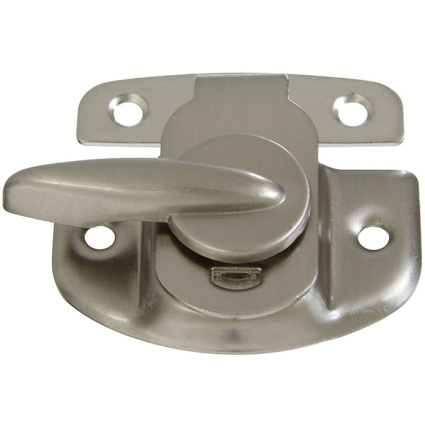 National Hardware N325-373 Steel Sash Lock, Satin Nickel