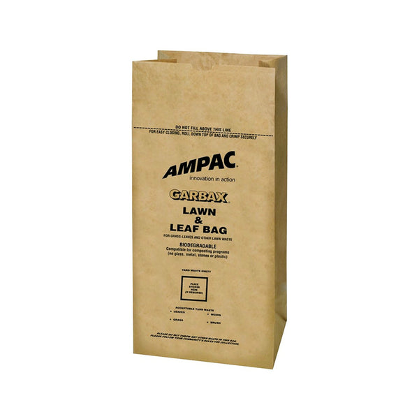 Ampac WGBPL-16 Lawn and Leaf Bag, 30 Gallon, Pack of 5