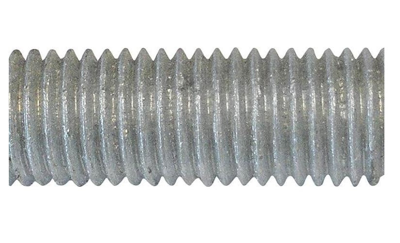 "Porteous Fastener 170-3012-504 HDG All Thread Rod, 5/8-11"" x 12"""