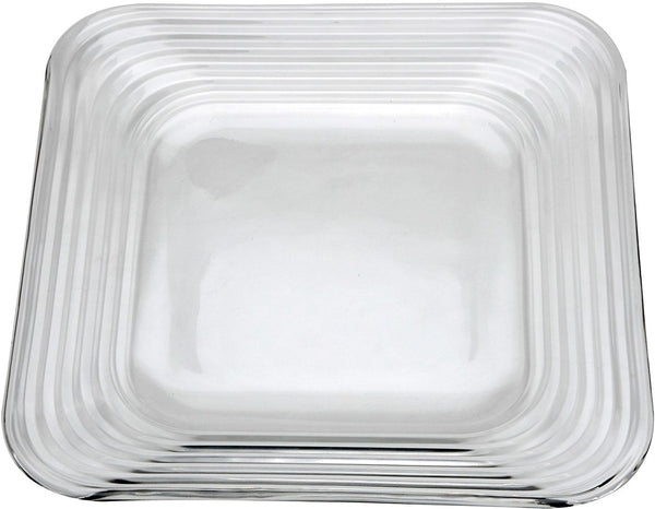 "Anchor Hocking 97433 Rio Steps Dinner Plate, 10.5"" x 10.5"""