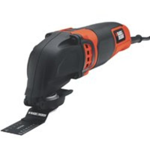 Black & Decker BD200MTB Oscillating Multi-Tool, 2.0 Amp