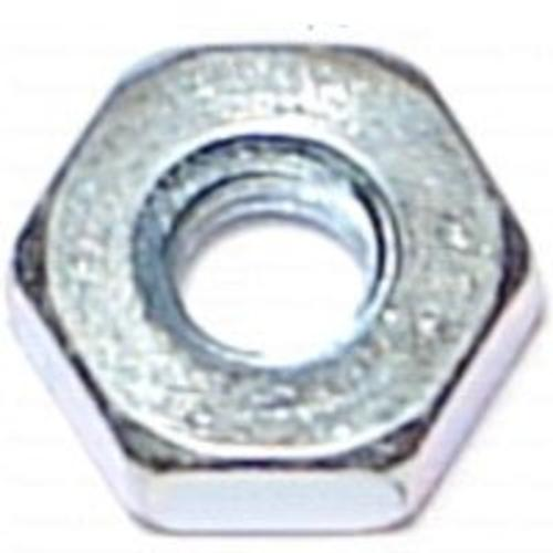 "Midwest 21504 Hex Nut, 1/4""-20"", Zinc Plated"