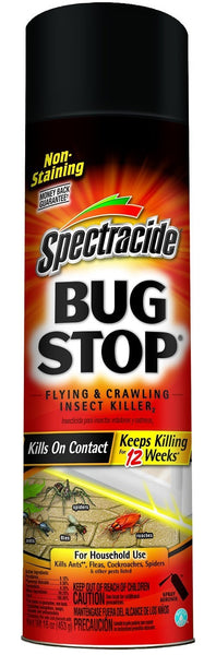 Spectracide HG-96235 Bug Stop Flying & Crawling Insect Killer2, 16 Oz