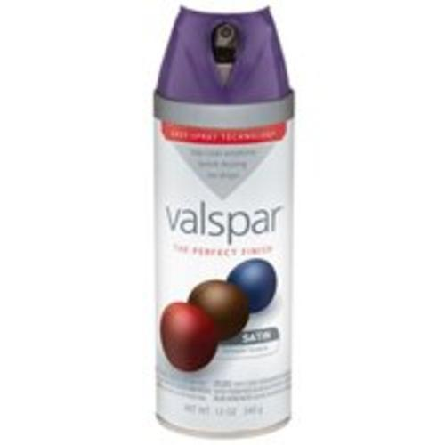 Valspar 85031 Spray Paint, 12 Oz, Indigo Cloth Gloss