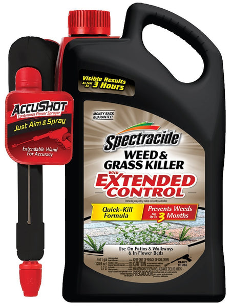 Spectracide HG-96462 Weed & Grass Killer with Extended Control AccuShot Sprayer, 128 Oz