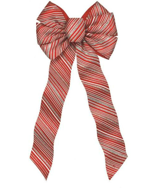 Holiday Trim 6094 7-Loop Christmas Bow, Wire