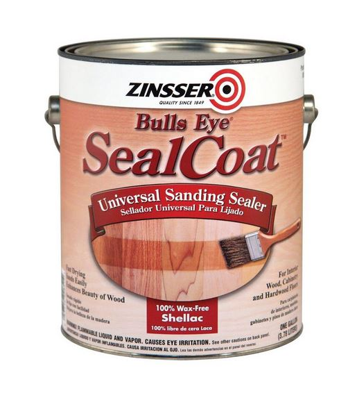 Zinsser 824H Bulls Eye Sealcoat Sanding Sealer, 1 Quarts