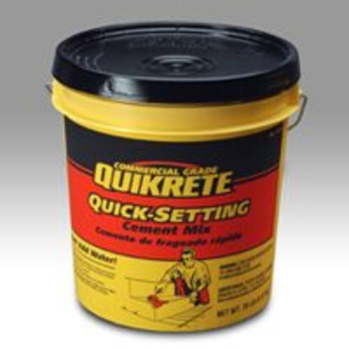Quikrete 124020 Quick-Setting Cement, 20 Lb