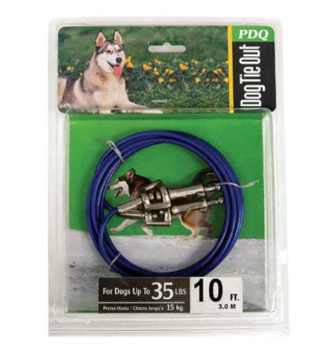 Prestige Q2310-000-99 Tie Out Cable, 10', Green