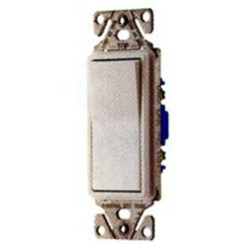 Cooper Wiring C7513W-SP 3-Way Decorator Switch, White, 15amp
